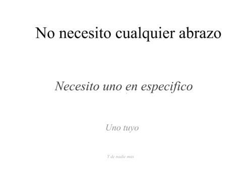 Necesidades