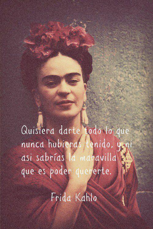 Cita de Frida Kahlo