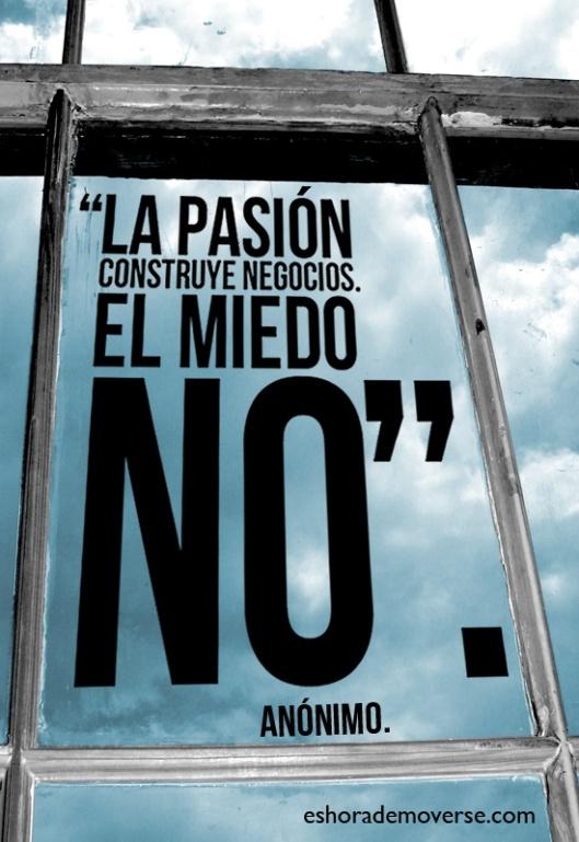 frase de pasión