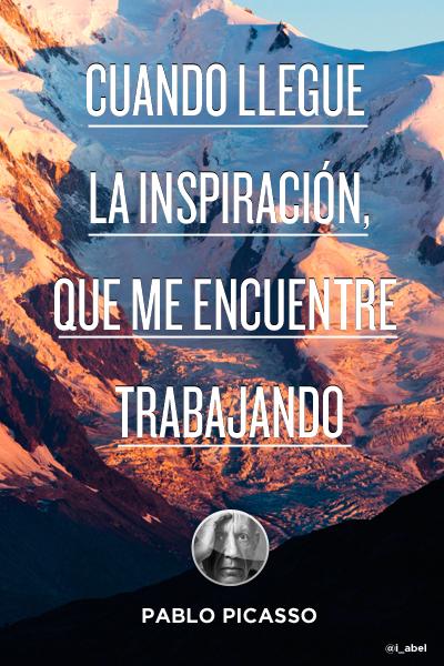 la inspiración