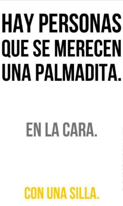 PALMADITA EN LA CARA