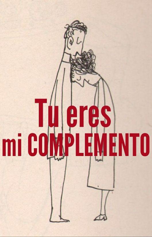 tu eres mi complemento