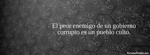 gobierno corrupto